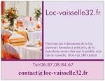 Loc-vaisselle32.fr se trouve dans le Gers limitrophe des Landes